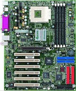 EPoX EP-8K9A2, KT400 (PC-2700 DDR)