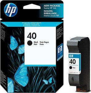 HP Printhead with ink Nr 40 black (51640AE)