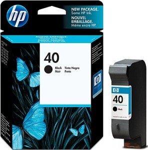 HP 40 Printhead with Ink black (51640AE)