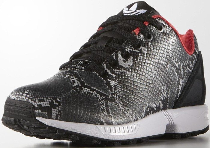 huge selection of 9e712 592aa adidas ZX Flux core black tomato (ladies) (B35310) starting from £ 51.00  (2019)   Skinflint Price Comparison UK