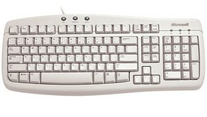 Microsoft OEM Basic Keyboard, PS/2, DE