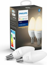 Philips Hue White LED-Candle E14 5.5W, 2er-Pack (671273-00)