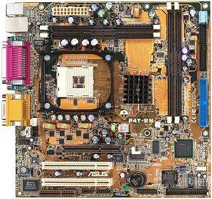 ASUS P4T-EM, i850E (różne modele) (RDRAM)