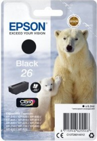 Epson Tinte 26 schwarz (C13T26014010)