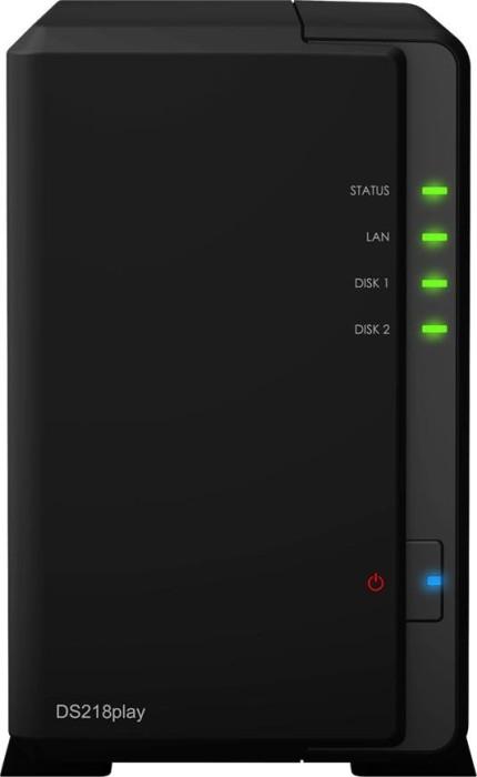 Synology DiskStation DS218play 24TB, 1x Gb LAN
