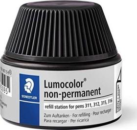 Staedtler Lumocolor 487 15 Non-Permanentmarker Nachfüllstation schwarz (487 15-9)