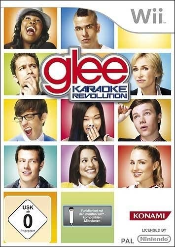 karaoke revolution: Glee Vol. 1 microphone included (German) (Wii)