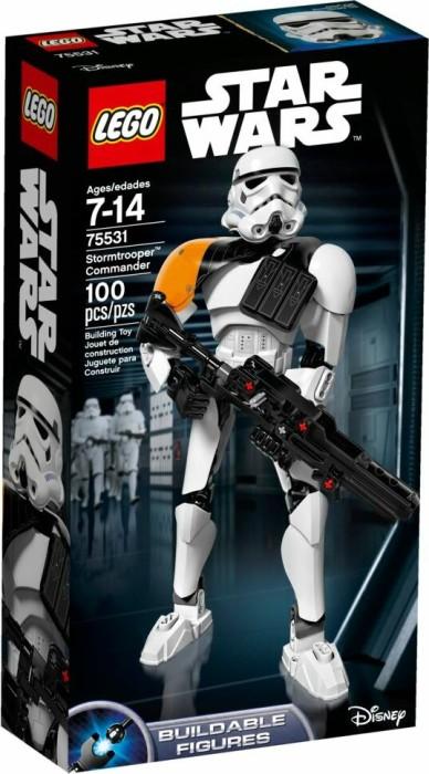 LEGO Star Wars Buildable Figures - Stormtrooper Commander (75531)