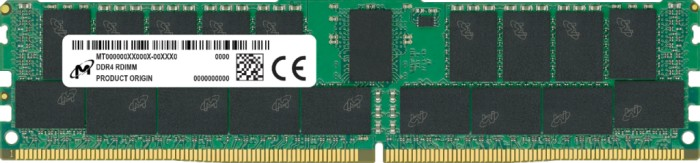 Micron RDIMM 16GB, DDR4-2933, CL22, reg ECC (MTA18ASF2G72PDZ-2G9E1)