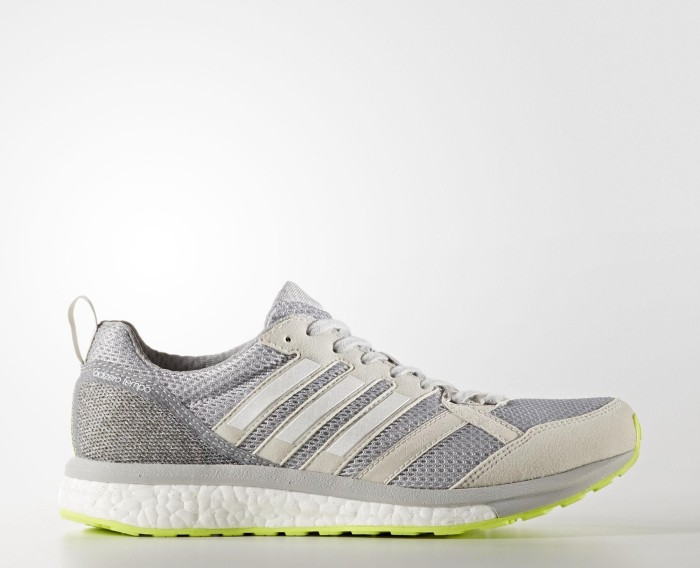 super popular f05b5 2ed2f adidas adizero Tempo 9 grey onefootwear whitegrey two (Damen) (