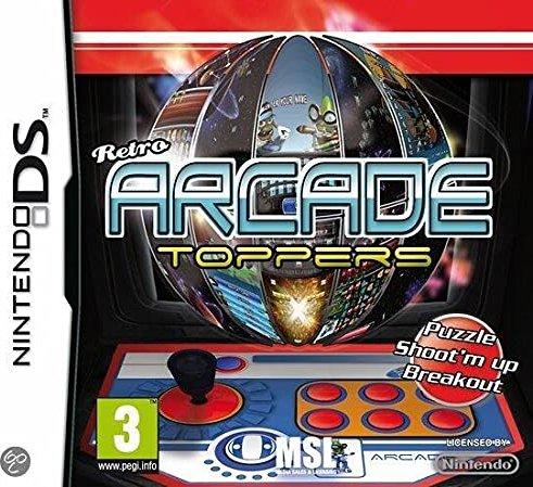 Retro Arcade Toppers (deutsch) (DS) -- via Amazon Partnerprogramm