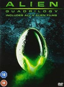 Alien Box (movies 1-4) (DVD) (UK)