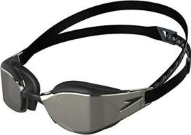Speedo Fastskin Elite Mirror Schwimmbrille schwarz/gelb