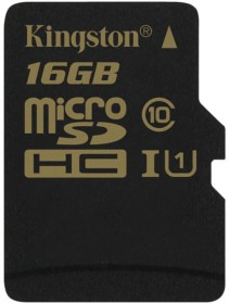 Kingston R90/W45 microSDHC 16GB, UHS-I, Class 10 (SDCA10/16GBSP)