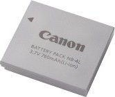 Canon NB-4L Li-Ion battery (9763A001) -- provided by bepixelung.org - see http://bepixelung.org/407 for copyright and usage information