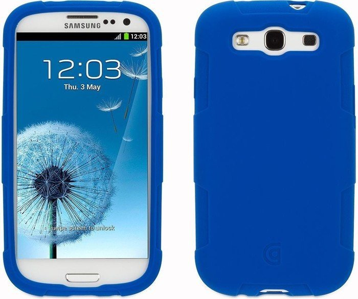 Griffin Protector Case für Samsung Galaxy S3 blau (GB35839)
