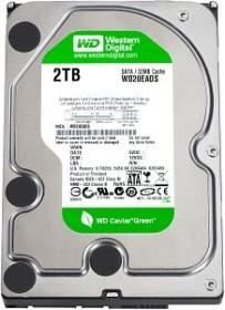 Western Digital WD Caviar Green 2TB, 32MB Cache, SATA 3Gb/s (WD20EADS)