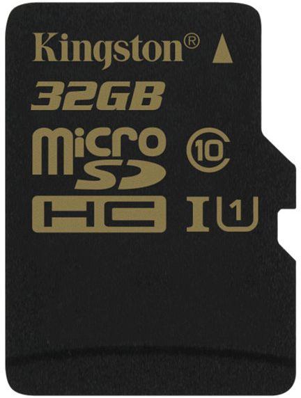 Kingston microSDHC 32GB, UHS-I, Class 10 (SDCA10/32GBSP)
