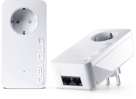 devolo dLAN 550 duo+ Starter Kit, HomePlug AV2, 2x RJ-45, 2er-Pack (9297/9303)