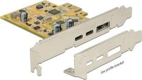 DeLOCK PCIe Adapter, USB-C, DisplayPort, PCIe 3.0 x1 (89582)