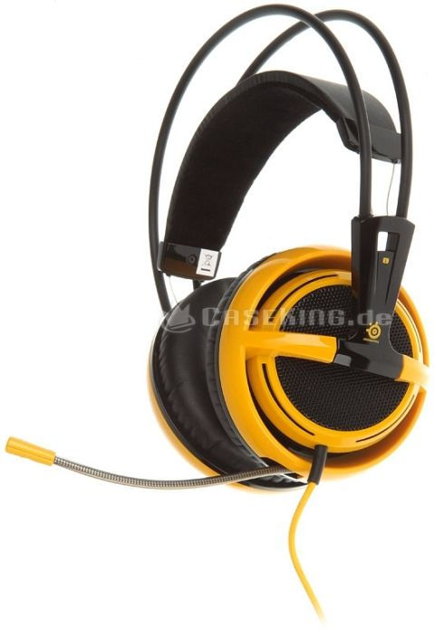 SteelSeries Siberia v2 Navi edition Full-size headset (51111) -- © caseking.de
