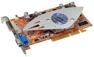 ABIT R9600XT-VIO, Radeon 9600 XT, 256MB DDR, DVI, TV-out, ViVo, AGP
