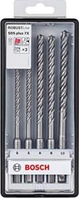 Bosch SDS-plus-7X hammer drill set, 5-piece. (2608576200)