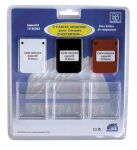 BigBen Memory Card 3er set - 3 x 1 MB with 15 Speicherblöcken (PS1/PS2)