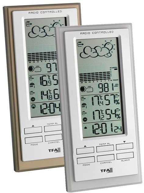 TFA Dostmann Faktum wireless weather station digital (35.1101.53)