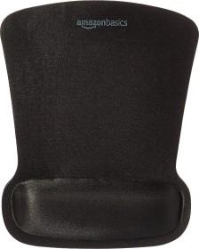 AmazonBasics mousepad with gel-palm rest, 254x203mm, black (SBD089WD)