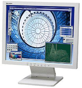 "Sharp LL-T19D1-H/B, 19"", 1280x1024, analogowy/cyfrowy"
