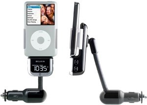 Belkin TuneBase FM 2 FM transmitter for iPod (F8Z176eaBLK)