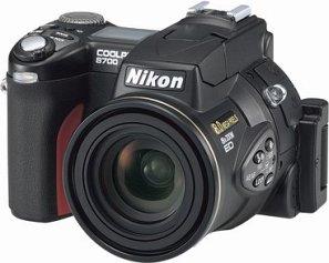 Nikon Coolpix 8700 black (various Bundles)