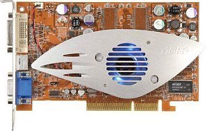 ABIT Radeon 9600SE, 128MB DDR, DVI, TV-out, AGP