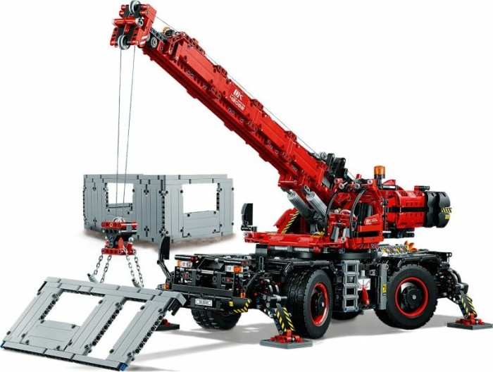 Lego Technic Rough Terrain Crane 42082 Starting From 17197