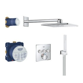 Grohe Grohtherm SmartControl Thermostat Duschsystem Set Rainshower 310 & SmartActive Cube chrom (34706000)