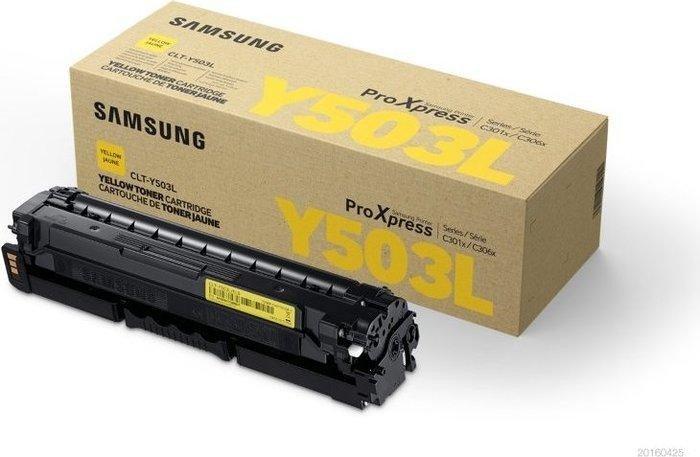 Samsung Drum with Toner CLT-Y503L yellow high capacity (SU491A)