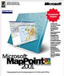 Microsoft: MapPoint 2001 Germany (PC) (B21-00051)
