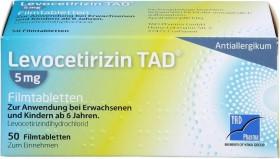 Levocetirizin TAD 5mg Filmtabletten, 50 Stück