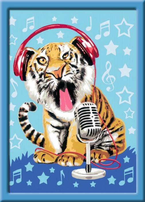 Ravensburger Malen Nach Zahlen Singing Tiger 28458