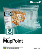 Microsoft MapPoint 2002 (angielski) (PC) (B1-00247)