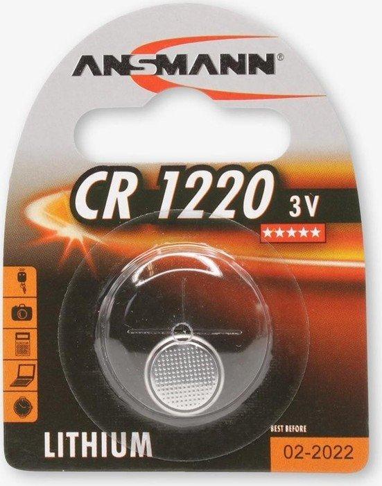 Ansmann CR1220 bateria pastylka, litowa, 3V (5020062)