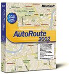 Microsoft: carroute 2002 Europe (PC) (689-00147)