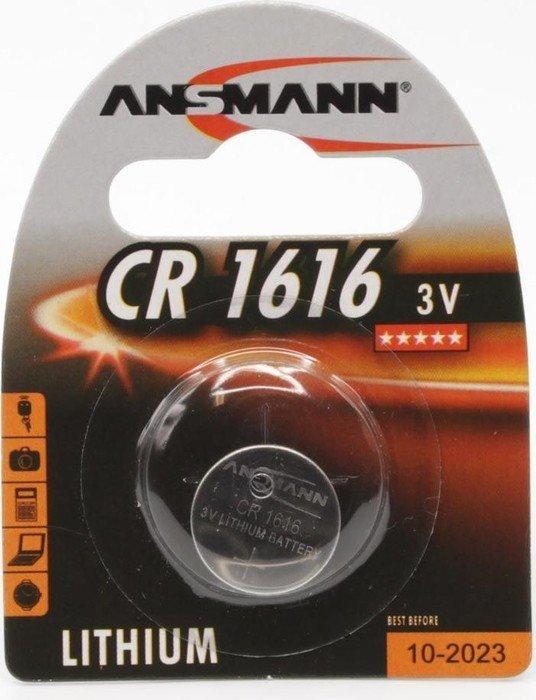 Ansmann CR1616 Knopfzelle, Lithium, 3V (5020132)
