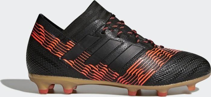 c06abe62301e adidas Nemeziz 17.1 FG core black/solar red (Junior) (CP9152 ...