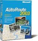 Microsoft AutoRoute 2003 Europa (PC) (689-00208)