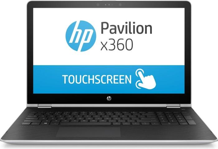 HP Pavilion X360 15-br001ng silber (3CE32EA#ABD)