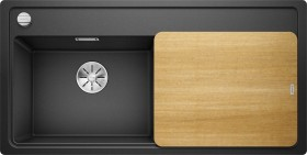 Blanco Zenar XL 6 S-F basin right rock grey incl. wooden cutting board (523895)