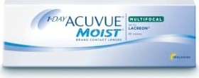Johnson & Johnson Acuvue Moist 1-Day Multifocal, -8.25 Dioptrien, 30er-Pack