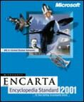 Microsoft: Encarta encyklopedia 2001 Standard (angielski) (PC) (196-00550)